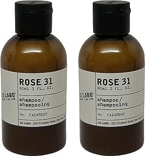 Le Labo Rose 31 Shampoo lot of 2 each 3oz bottles. Total of 6oz