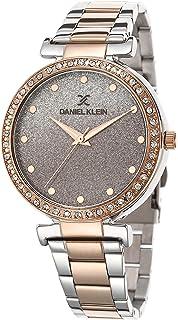 DANIEL KLEIN Premium Alloy Case Stainless Steel Band Ladies Wrist Watch - DK.1.12491-5