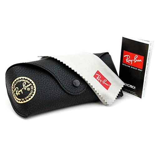 ec5550b86d ... ZRBCOM58-SPECIAL EDITION DENIM CASE Black CASE ... Ray ban brand new  leather case with booklet and cleaning cloth