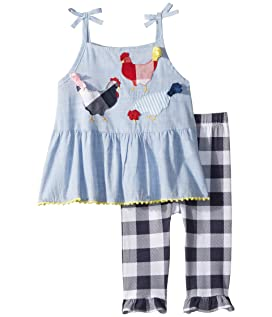 Farmhouse Tunic and Capris Two-Piece Set (Infant/Toddler)