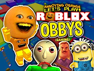 Clip: Annoying Orange plays Roblox Obbys! (Gaming)