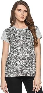69GAL (105Women's T-Shirt (Grey) (Pack of 1) (S/M/L/XL/3CL/5XL)