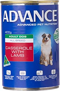 Advance Adult and Senior Casserole with Lamb 400g Dog Wet Food