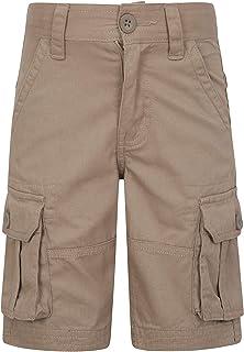 Mountain Warehouse Cargo El cargoembroma los Cortocircuitos - 100% Pantalones del algodón, Waistband Ajustable, Cortocircu...