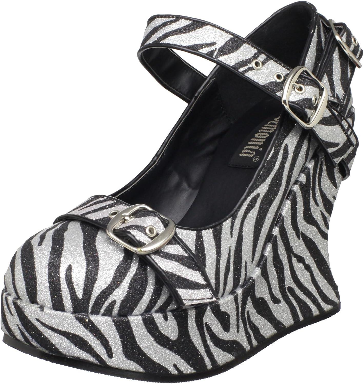 Pleaser Women's Bravo-10G Wedge Sandal