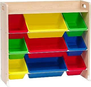 IRIS 3-Tier Storage Bin Rack with Shelf, Primary