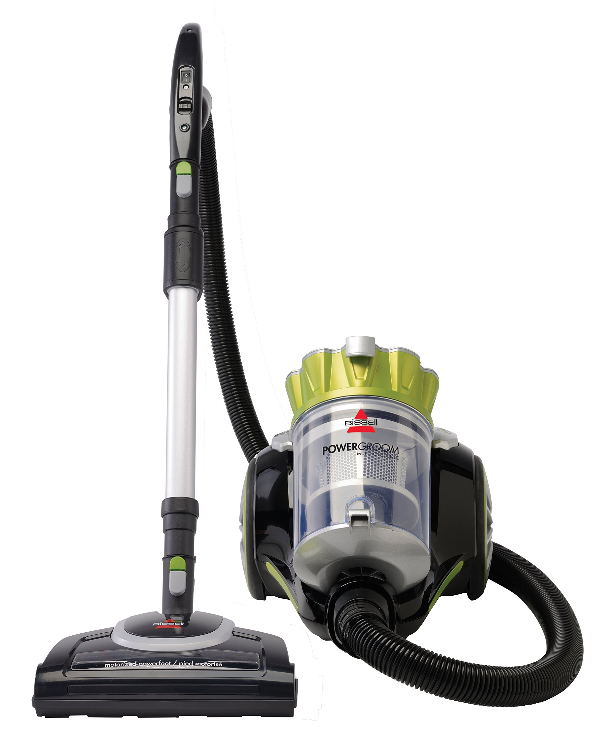Bissell Powergroom Multicyclonic Bagless Canister