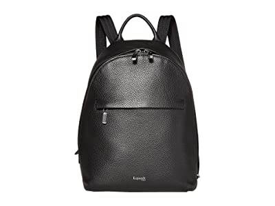 Lipault Paris Invitation Small Round Backpack (Black) Backpack Bags