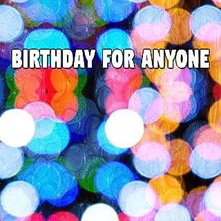 Birthday for Anyone