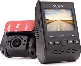 SpyCentre Security A129 Dual Channel Dash Cam with Built-in GPS Tracking, WiFi - Front and Rear View Cameras - 1080p Resolution - Use with VIOFO App