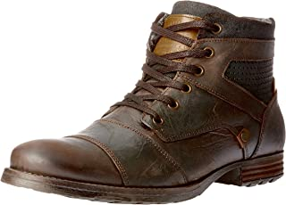 Wild Rhino Men's Dalby Shoes, Dark Brown
