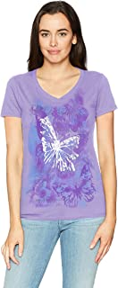 butterfly style shirt