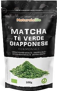 Ekologiskt grönt matcha pulverte [ CEREMONIELL KVALITET ] 100g. Japanskt grönt te av högsta kvalitet. Matcha pulver ceremo...
