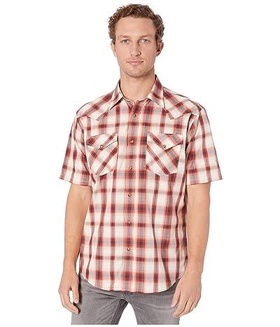 Pendleton Frontier Shirt Short Sleeve (Red Plaid) Men