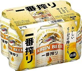 キリン 一番搾り生ビール 350ml 6本