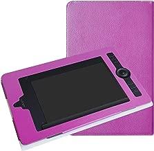 Wacom Intuos Pro Paper Medium PTH660P Case,Mama Mouth Slim-Book Folio Carry PU Leather Cover for Wacom Intuos Pro Paper Medium PTH660P,Purple