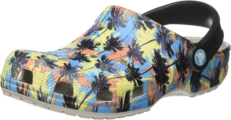 Crocs Unisex Classic Tropics Clog Clog Clog Mule  spara på clearance