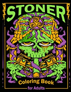 Stoner Coloring Book: A Trippy Psychedelic Stoner Coloring Book for Women and Men | A Uniquely Humorous & Cynical Coloring...