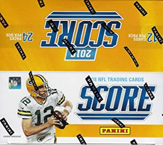 2017 Score NFL Football Unopened Retail Box of 24 Packs with 288 Cards Total including 72 Rookies, 4 Parallels and 48 Inserts Per Box on Average