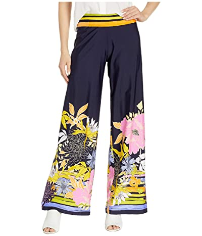 Trina Turk Bal Harbour Floral Roll Top Pants Cover-Up (Multi) Women