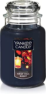 Yankee Candle Large Jar Candle, Crisp Fall Night