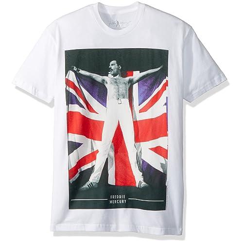 aff4c888 Bravado Freddie Mercury Flag T-Shirt