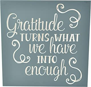 Best gratitude turns what we have into enough sign Reviews