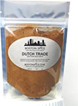 Boston Spice Dutch Trade Speculaas Speculoos Baking Seasoning Mix Blend For Cookies Cakes Pancakes Ice Cream Windmill Cookies Dessert and More (Approx. 1/2 Cup of Spice)