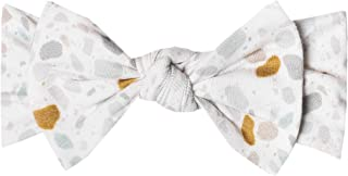 """Baby Stretchy Soft Knit Headband Bow""""Arlo"""" by Copper Pearl"""