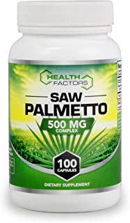 Saw Palmetto for Prostate Support - Berry Powder with Extract to Reduce Frequent Urination and Help Block DHT to Reduce Ha...