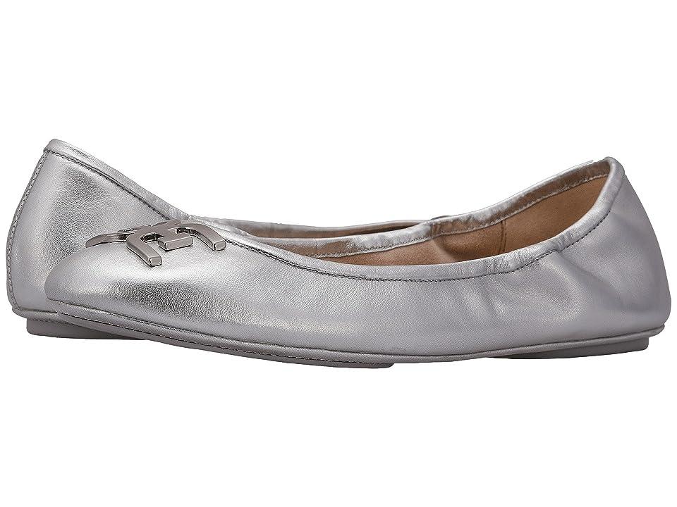 Sam Edelman Florence (Soft Silver Soft Metallic Sheep Leather) Women