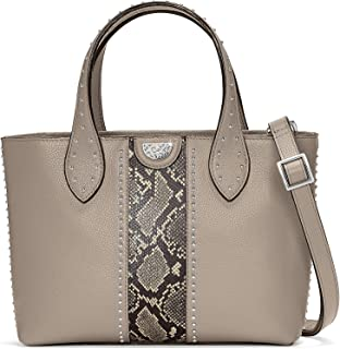 Zoey Small Convertible Tote - SNAKE-BEECHWOOD [11