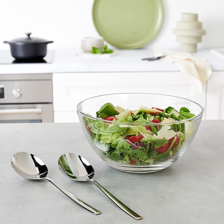 WMF Taverno Salad Set, Stainless Steel, 24 x 24 x 16 cm : Amazon.co.uk:  Home & Kitchen