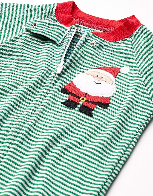 Sara's Prints Unisex Baby Footed Pajama