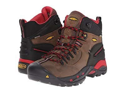 Keen Utility Pittsburgh Boot (Bison/Red) Men