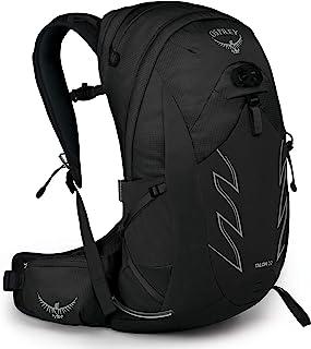 Osprey Men's Talon 22 Hiking Backpack, Stealth Black, Small/Medium