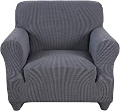 Obstal Stretch Spandex Armchair Couch Slipcover Sofa Covers for Living Room, One Piece Anti-Slip Chair Slipcover with Elas...