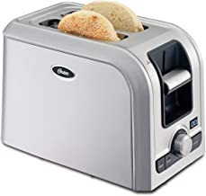 Oster 2-Slice Digital Countdown Toaster, Brushed Stainless Steel - TSSTRTS2S2