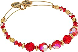 Swarovski Crystal Beaded Poinsettia Bangle