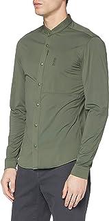 BOSS Bonaventura_s Camisa Henley para Hombre