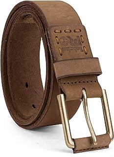 حزام جلدي للرجال من Timberland PRO مقاس 40 مم، قمح/سحب، 52