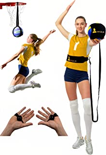 Regius Volleyball Training Equipment 3.0 - Premium Solo Trainer, Perfect for Beginners Practicing Serving, Setting and Spi...