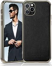 LOHASIC iPhone 11 Pro Max Case, Slim Fit Business PU Leather Elegant High-end Cover Anti-Slip Soft Grip Flexible Full Body...