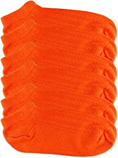 Womens Bright Crochet Knit Pattern Low Cut Ankle Socks 3 Pair Pack