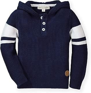 Hope & Henry Boys' Hooded Pullover Sweater
