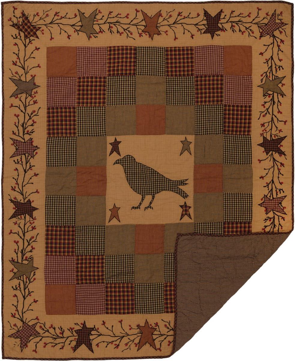 VHC Brands Excellence Primitive Decor Settlement Pocket Rod Quality inspection Pre Crow Cotton