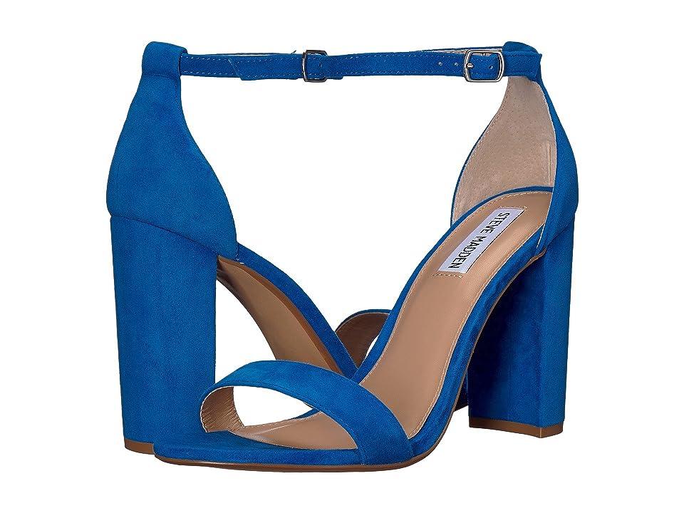 Steve Madden Carrson Heeled Sandal (Sea Blue) High Heels