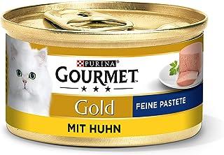 Purina Gourmet Gold Fine Pastete, Hoogwaardig Kattenvoer, Diervoeding, Zacht Genot, 12 Stuks (12 X 85 G Doos)