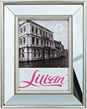 Lilian 8x10 Inch Desk/Wall Mirrored Picture Frame, Choose PS Polymer Material Environmental Protection