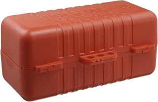North Safety E-Safe Electrical Plug Lockout for 220/550 Volt Plugs, Red (Pack of 1)